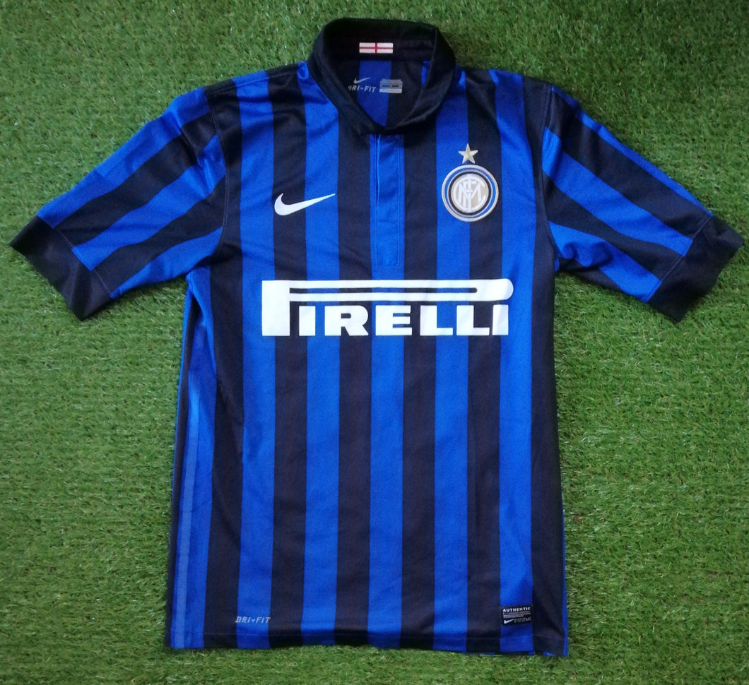 Inter Milan Home Shirt 2011 2012 S