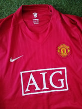 Load image into Gallery viewer, Manchester United Home Shirt 2007 2009 XL