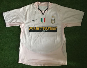 Juventus Away Shirt 2003 2004 XL