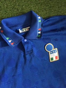 Italy Home Shirt World Cup 1994 S