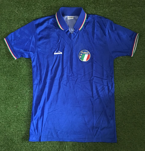 Italy Home Shirt 1990 M