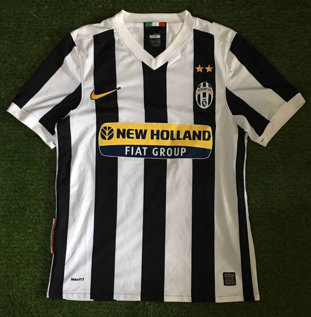 Juventus Home Shirt 2009 2010 S