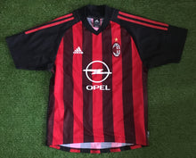 Load image into Gallery viewer, Milan AC Home Shirt 2002 2003 S