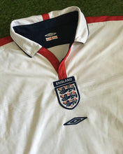 Load image into Gallery viewer, England Home Shirt Euro 2004 M