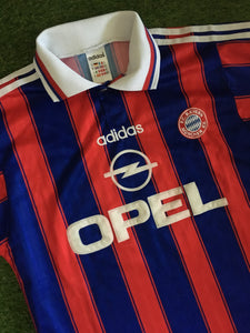 Bayern Munich Home Shirt 1995 1997 S