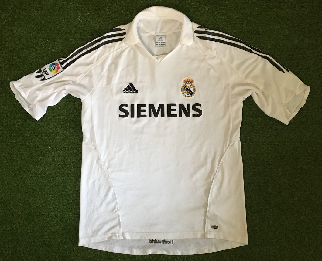 Real Madrid Home Shirt 2005 2006 L