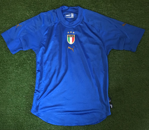 Italy Home Shirt 2004 2006 M