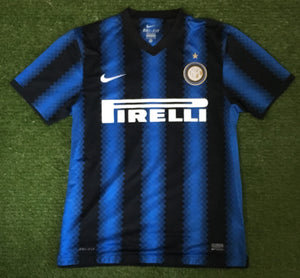 Inter Milan Home Shirt 2010 2011 M
