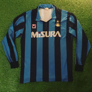 Inter Milan Home Shirt 1990 1991 L