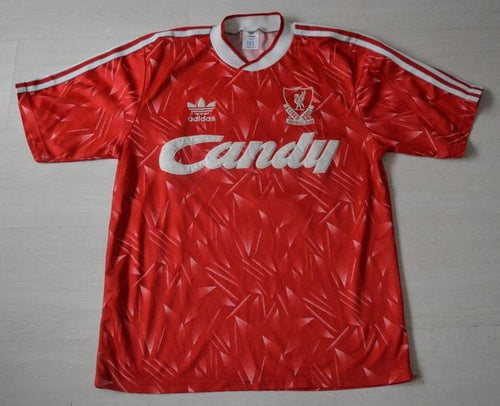 Liverpool Home Shirt 1989 1991 L Dalglish #7