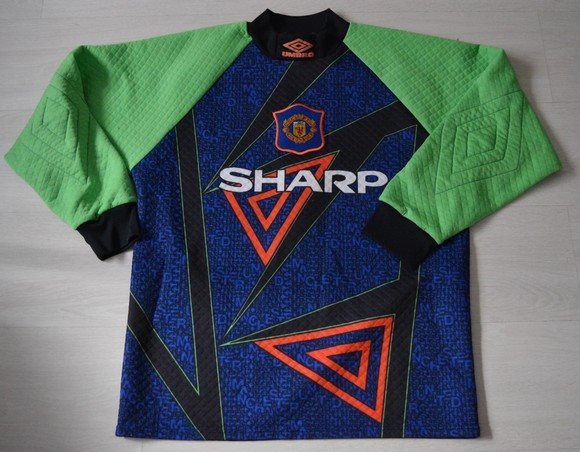Manchester United Goalkeeper Shirt 1994 1996 M