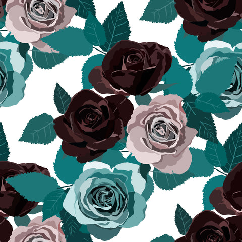 Custom Shirt Pattern Velvet Rose