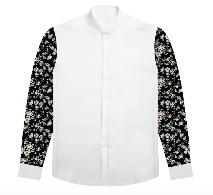 Jake's Floral Black & White