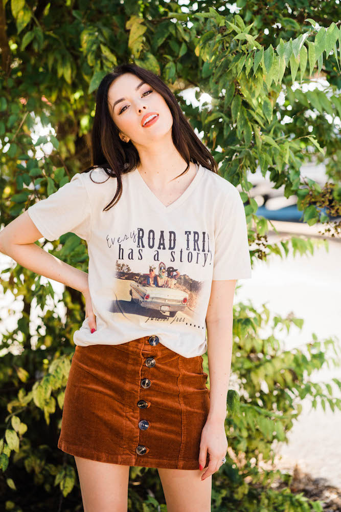 Every Road Trip Has a Story Tee