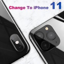 iPhone X/XR/XS/MAX Seconds Change iPhone 11/11Pro/11 Pro max Camera Protective Cover