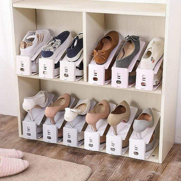 Adjustable storage shoe rack(50%OFF and over 29$ free shipping )