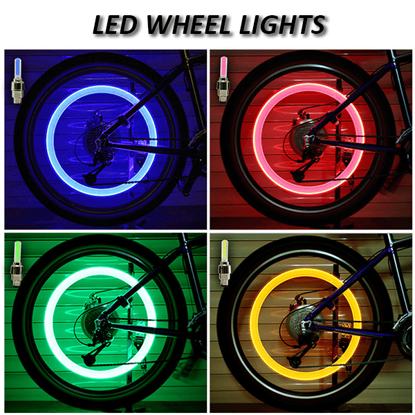 50%OFF Today! Waterproof Premium Wheel Lights