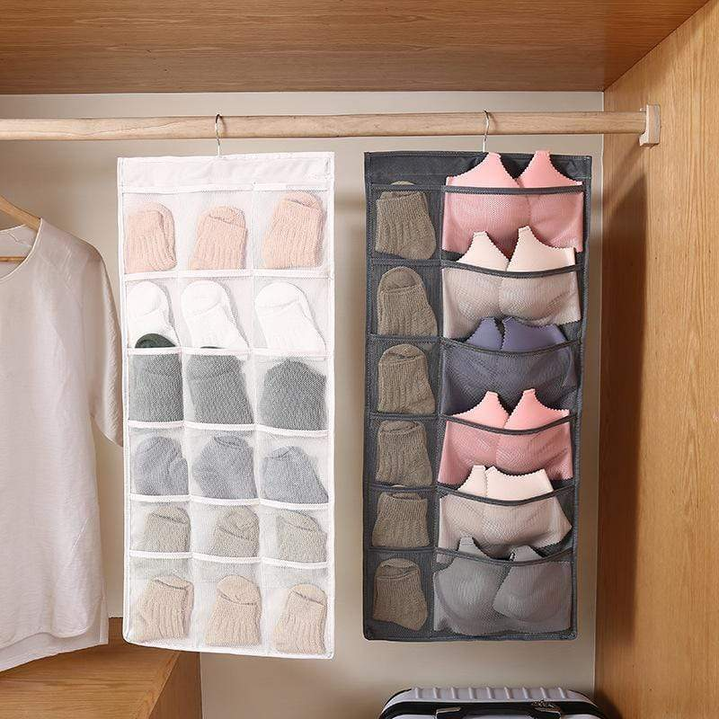 Double-Sided Underwear Storage Hanging Bag