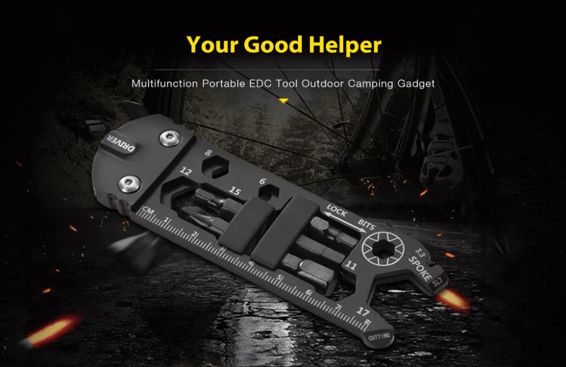 Multifunction Bicycle Portable EDC Tool (BUY 2 FREE SHIPPING)