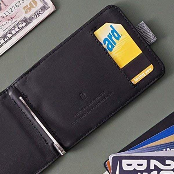 Extra-large capacity thin leather pull-wallet - At least 20 cards and a lot of cash