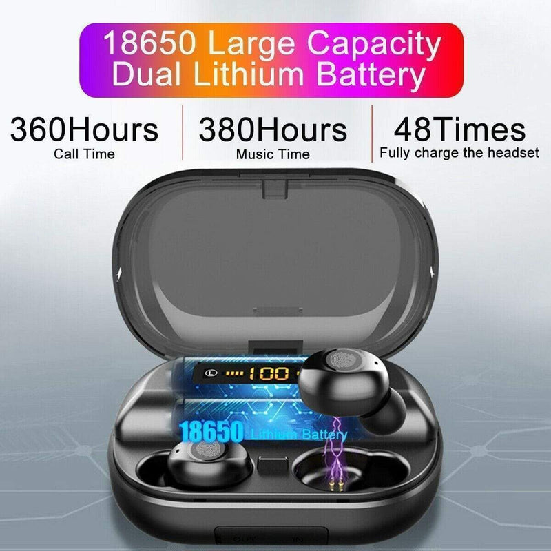 50% OFF-2019 Latest Style Touch Control Wireless Earbuds