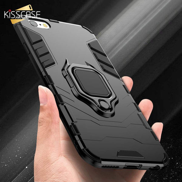 Finger Ring Holder Shockproof iPhone Cover Case