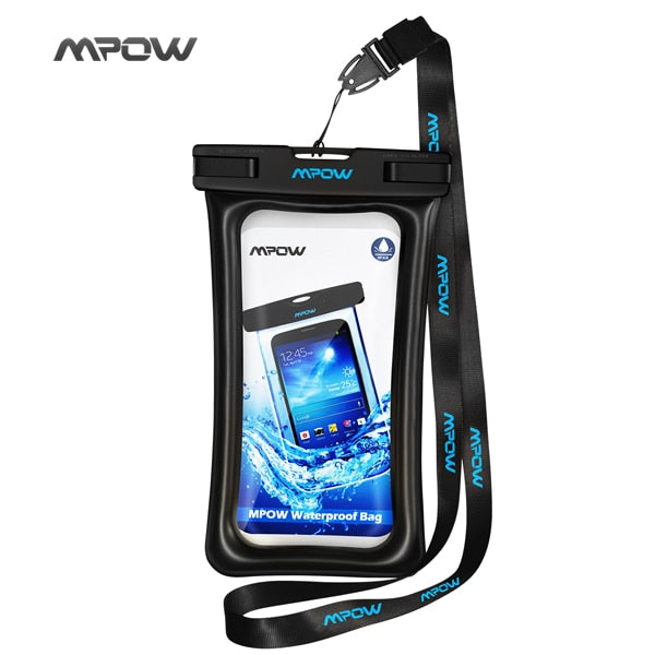 Mpow IPX8 Waterproof Bag Case Universal 6.5 inch Mobile Phone Bag