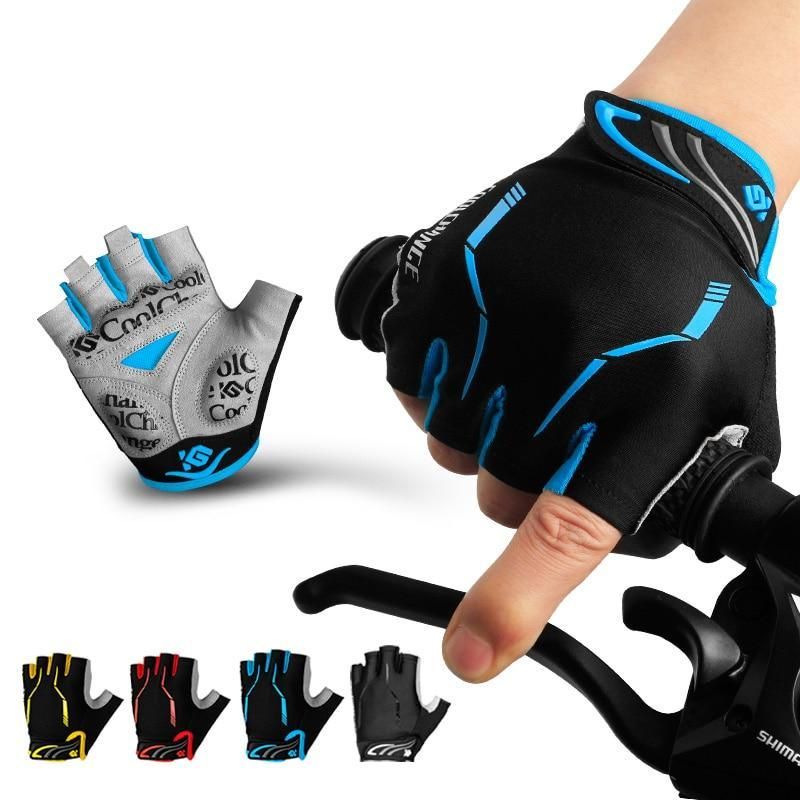 Cycling Gloves Half Finger Mens Women's