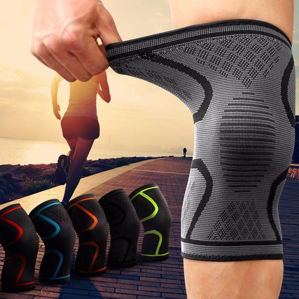 2pcs/lot Outdoor Sports Fitness Knee Pads For Men Women