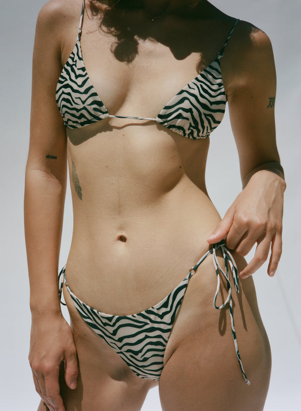 Lola Top - Natural Zebra