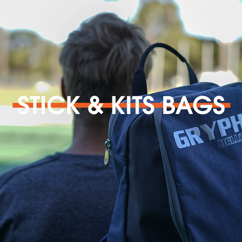 Hockey Stick And Kit Bags