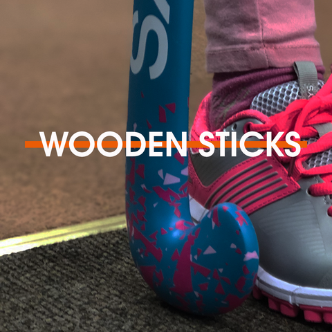 Wooden Hockey Sticks