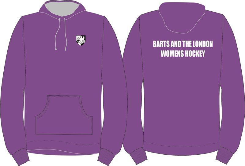 Barts Uni Women's Hooded Top | The Hockey Centre