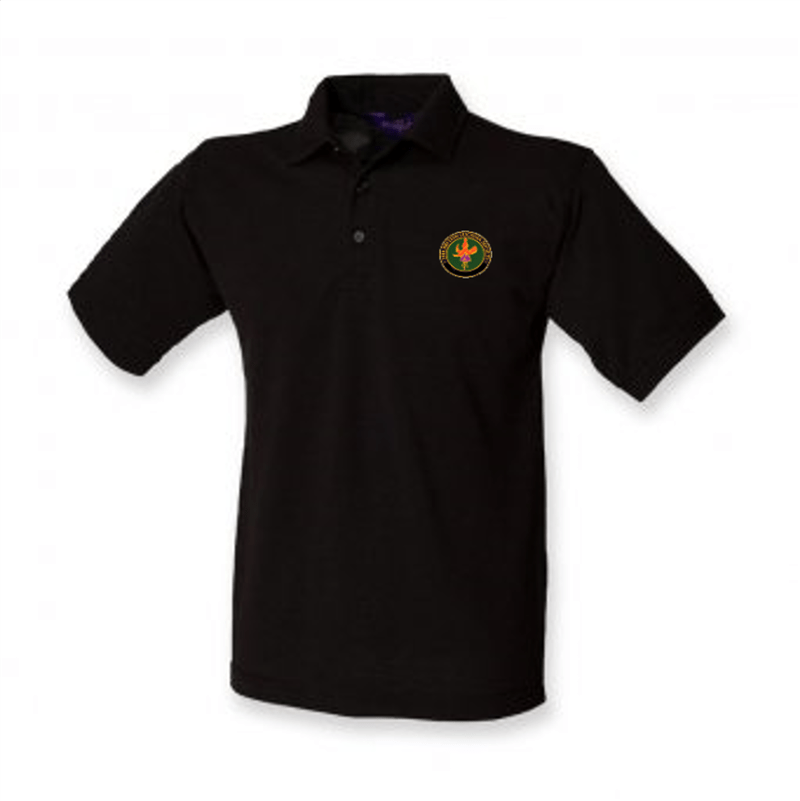 BFS Black Polo Shirt