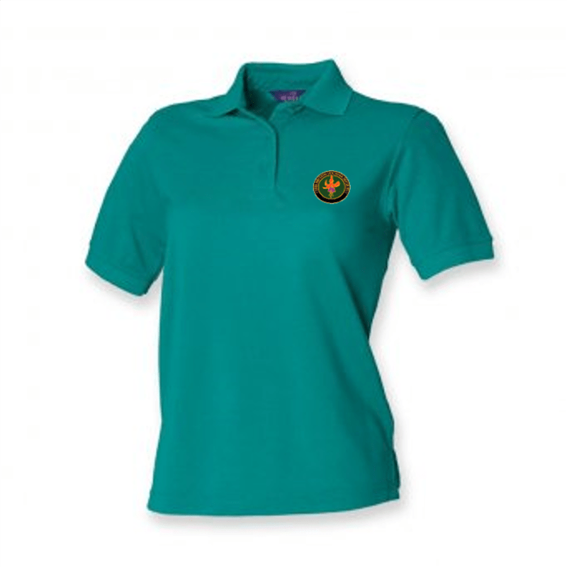 BFS Women's Jade Green Polo Shirt