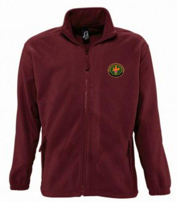 BFS Burgundy Fleece