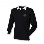 BFS Mens Rugby Shirt Black