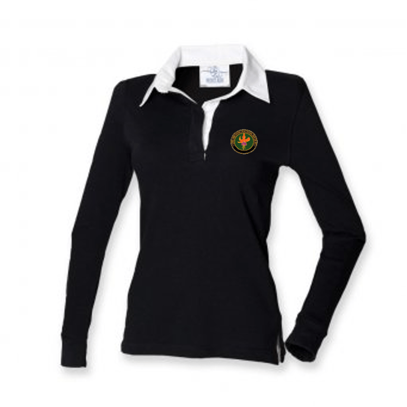 BFS Women's Rugby Shirt Black