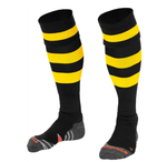 Black & Yellow hoops Original Sock | The Hockey Centre