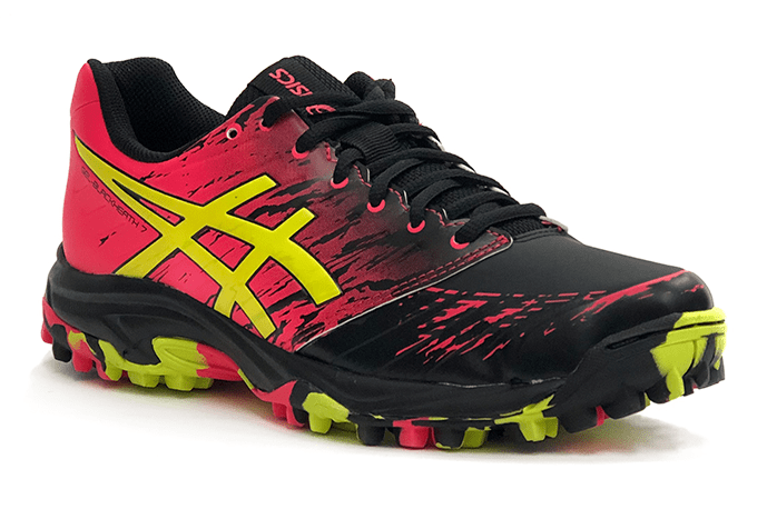 ASICS Gel Blackheath 7 Womens 2019 Black Pink Yellow