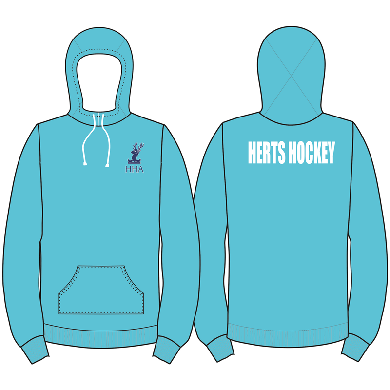 Hertfordshire County Youth Hooded Top