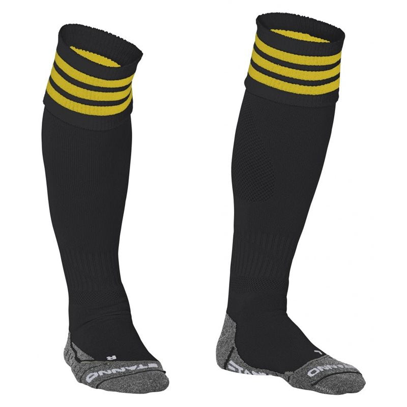 Black/Yellow Ring Sock