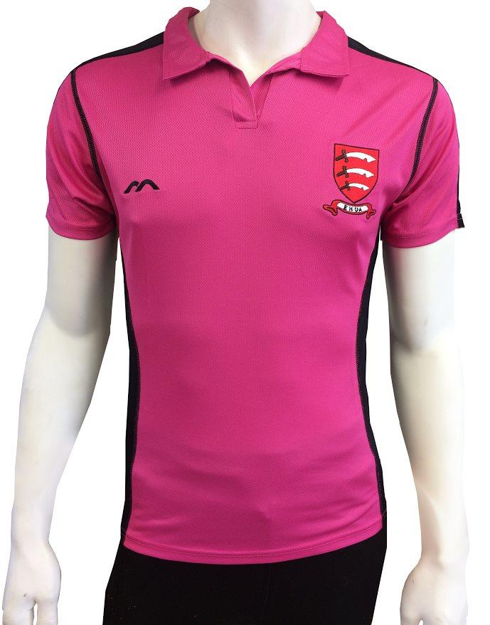 EHUA Ladies Umpire Shirt Pink