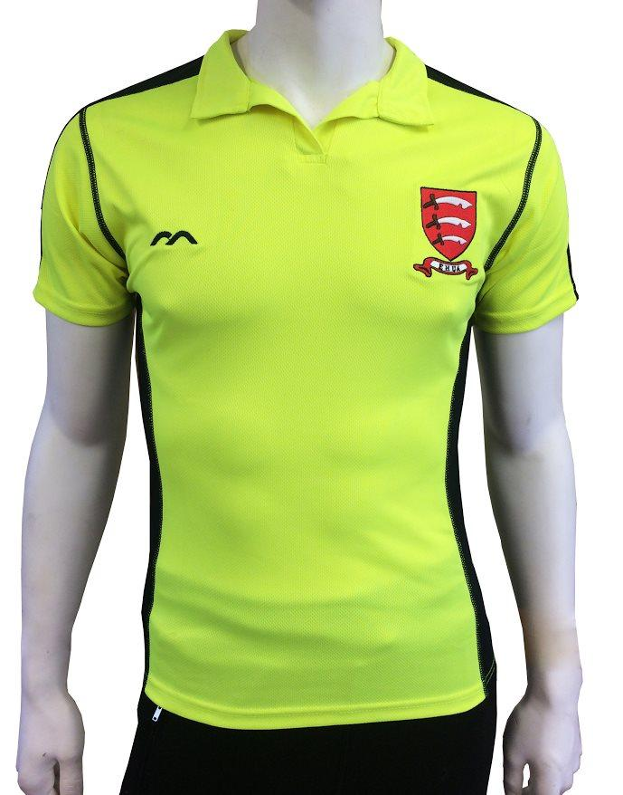 EHUA Ladies Umpire Shirt Yellow