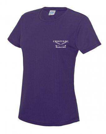 Crostyx Hockey Club Short Sleeve Ladies Performance T-Shirt