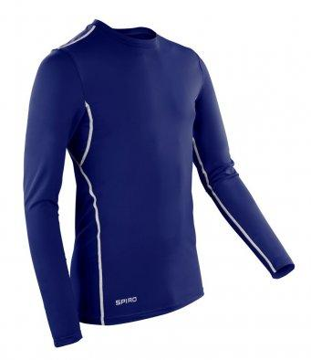 Spiro Compression Body Fit Long Sleeve Base Layer | The Hockey Centre
