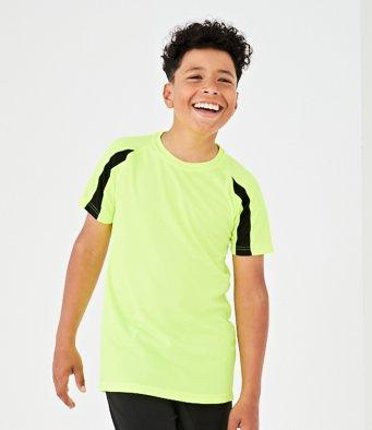 AWDis Kids Cool Contrast T-Shirt | The Hockey Centre