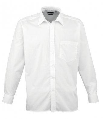 Premier Long Sleeve Poplin Shirt | The Hockey Centre
