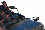 ASICS FujiTrabuco PRO 2019 Black Navy Orange Lace Detail