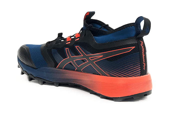 ASICS FujiTrabuco PRO 2019 Black Navy Orange Heal